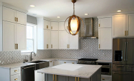A kitchen remodeled by J Brothers Home Improvement