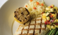 A sunny classic; red snapper dish.