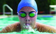 Swim Smart Plymouth Swim Cap innovative silicone