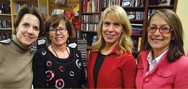 Julie Lensing, Terry Kolberg, Carol Wexler and Julie Wiens