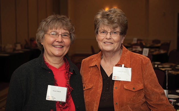 Susan Makela and Claudia Pingree