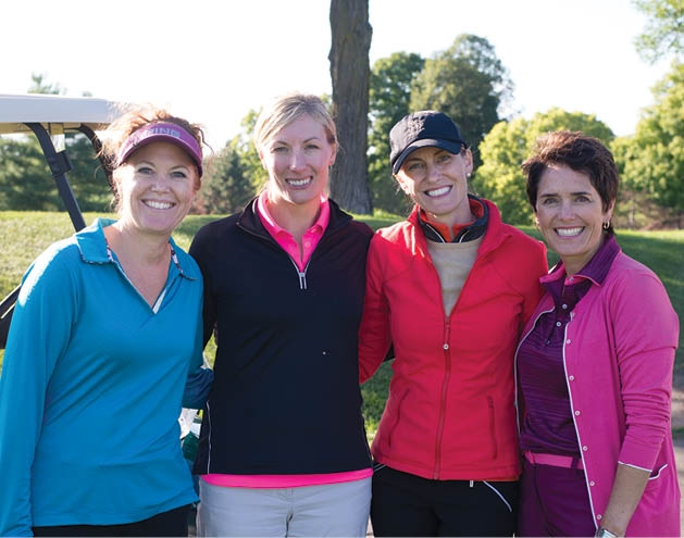Tiffany Moon, Trisha Davidson, Dana Schlauderoaff and Kelly Regan