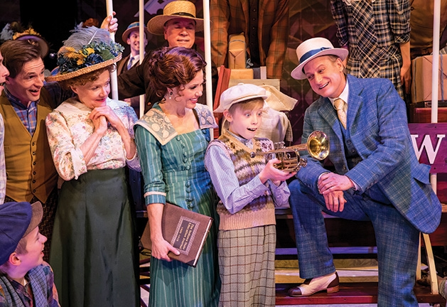 "Hugo Mullaney onstage as Winthrop Paroo in ""The Music Man"" at Chanhassen Dinner Theatres."