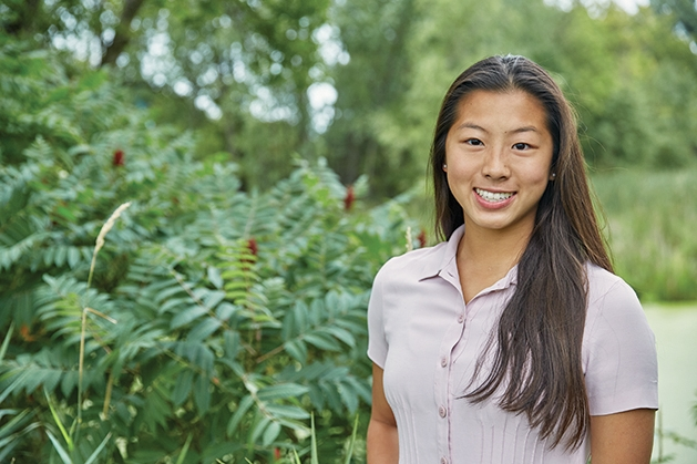 Wayzata High School senior Sarah Cao