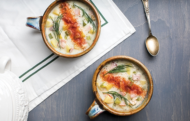 Smoky Fish Chowder