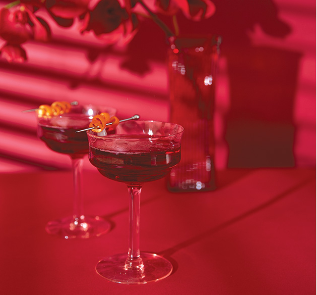 "Valentine's Cocktail ""Red Ruby"""