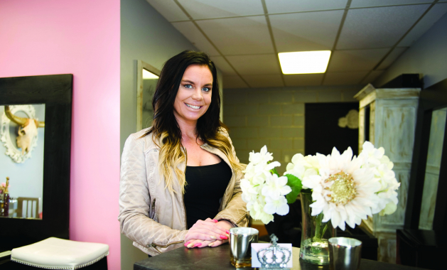 Beautyholic owner Hanna Puckett loves making people feel beautiful