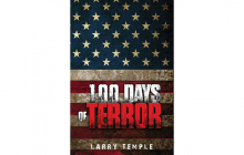 100 Days of Terror, Noah Reardon, Larry Temple, thriller novels, Beverly Hills Book Award