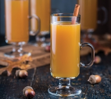 Hot Spiced Drunken Apple Cider