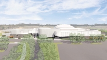 A rendering of the additions coming to Plymouth Creek Center