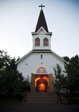 Mount Olivet Lutheran Church's chapel.